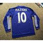 Camiseta Manga Larga Chelsea 2015 2016 Hazard Oscar Costa
