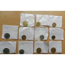 Lote 11 Monedas Antiguas, Argentina, Brasil, Uruguay