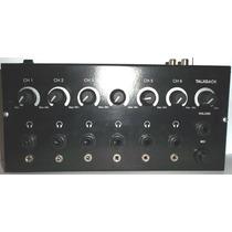 Amplificador Distribuidor Auriculares 12 Salidas C/ Talkbak