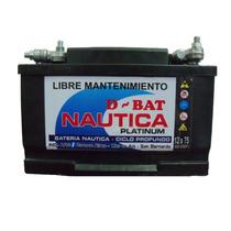 Bateria Ciclo Profundo Nautica 12x75 Libre Mantenimiento