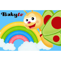 Kit Imprimible Baby Tv - Tarjetas - Cajitas - Y Mas