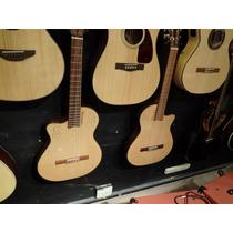 Guitarra Alpujarra Kec300 Zurda + Funda Semirigida