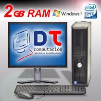 Pc Computadora Completa Con Monitor Lcd ! No Gaste De Mas !