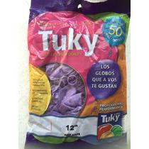 Globos Tuky 12 Pulgadas Para Helio Decorar En Belgrano !!