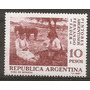 Argentina Gj 1406 Pintores Argentinos Mt 786 Mint Año 1967
