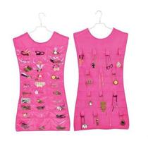 Vestido Organizador Colgante De Bijouterie Rosa