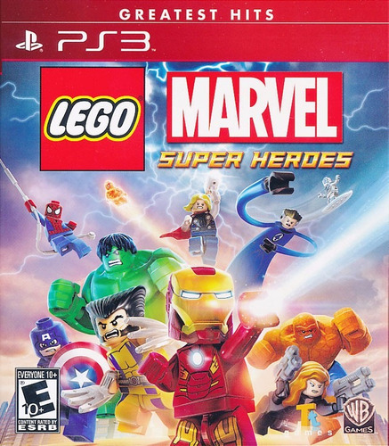 Lego Marvel Super Heroes Ps3 | Digital Espaã±ol Oferta