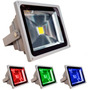 Reflector Led Rgb 50w Ip65 220v Exterior Cambio De Colores