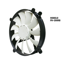 Cooler Nzxt Performance Fan 200 1300rpm Ventilador Gabinete