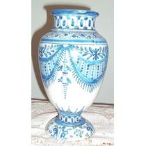 Antiguo Jarron De Ceramica Talavera