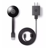 Google Chromecast 2 2da Generacion Smart Tv Wifi C/fuente