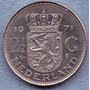 Holanda 2 1/2 Gulden 1971 * Juliana * Enorme *