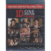 One Direction - Asi Somos (2013) - Blu-ray Original Nuevo