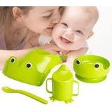 Ikea - Set Alimentación Sueco Completo Bebes Mata 4 Piezas