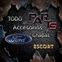 Paragolpe Delantero Negro 97 Ford Escort Y Mas...