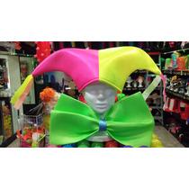 Gorro Arlequin Fluo Pack X 10 Carnaval Carioca