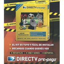 Kit Direct Tv Prepago 60cm Super Ahorro
