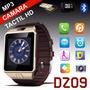 Reloj Celular Smartwatch Dz09 Tactil Camara Bt Sim Mp3 Libre