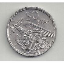 España - 50 Pesetas - 1957 - S/c - Excelente