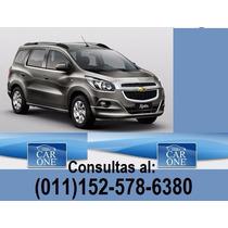 Chevrolet Spin Lt $75000 De Anticipo Y Cuotas Sin Interes
