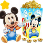 Kit Imprimible Mickey Bebe Disney Candy Bar Y Cotillon 2x1