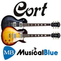 Guitarra Electrica Cort (h-h) T/lp Std Set-in Cr250