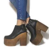 Zapato Plataforma Con Cadenitas