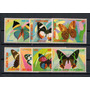 Guinea Ecuatorial 1977 Mariposas Serie Completa Mint