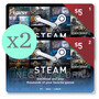 Steam Wallet Card U$5 P/ Juegos De Pc Originales - Hot Sale
