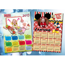Almanaques Calendarios 2014 Full Color Imán Personalizado