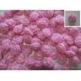 Rosas Flores Apliques Porcelana Fria X 10 $1,50 Cada Uno!!