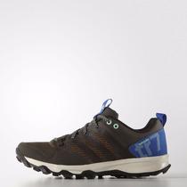 Zapatillas De Running Adidas Kanadia 7 Trail Ocre/azul