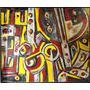 Cuadro Abstracto Gran Oleo Vinzio (c-208)