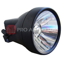 Tacho Pin Spot Pls Par 36 Led 3watts Color Negro Esferas
