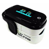 Oximetro De Pulso Saturometro Silfab Adulto Y Niños Md300-cc
