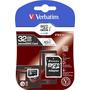 Tarjeta Memoria Micro Sd Verbatim 32 Gb Clase 10 C/adaptador