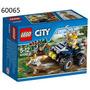 Juego Ingenio Lego City Police Atv Patrol 60065