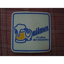 Antiguo Posa Vaso Cerveza Quilmes. Precio Por Unidad.