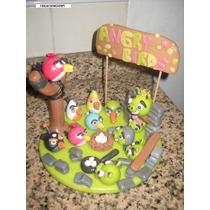 Adorno Torta Angry Birds