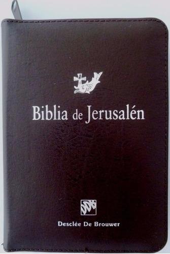 14a0877d4e7 Biblia De Jerusalén Manual Md3 Ddb Con Cremallera