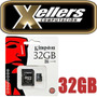 Memoria Microsd Sd 32gb Kingston Para Tel Celular Camara Pc