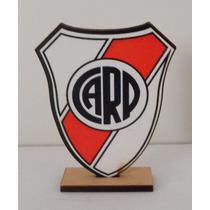 Escudos Fútbol - Souvenir Personalizado - Cumpleaños 10 Unid
