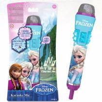 Microfono Karaoke Frozen Conectalo A Tu Mp3