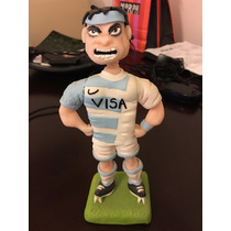 Figura De Torta Los Pumas Rugby En Porcelana Fría