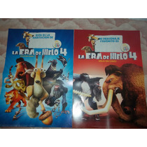 Lote X 2 Poster La Era De Hielo 4 Coleccion Mc Donalds 2012