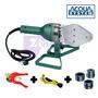 Termofusora Acqua System 1400w.c/boq.+tijera+cortatubo Sigas