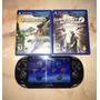 Sony Psvita Consola Ps Vita + 2 Juegos + Memoria De 32gb