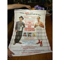 Lote De 4 Afiches De Cine Antiguo A $199