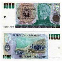 Billete 1000 Pesos Argentinos Bottero 2634 Sin Circular