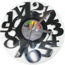 Relojes Artesanales Calados En Discos Vinilo Diseños Unicos